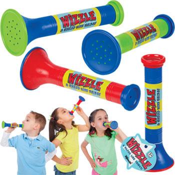 Kids blowing Wizzles