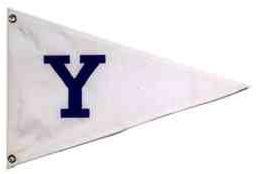 Yale Sailing Burgee